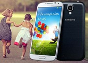 Samsung Galaxy S4  (Silver-66759)