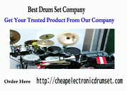 Best Online Drum Set Company | Cheap Electronic Drum Set